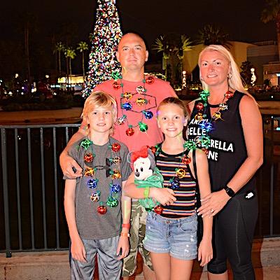I love Christmas time at Walt Disney World