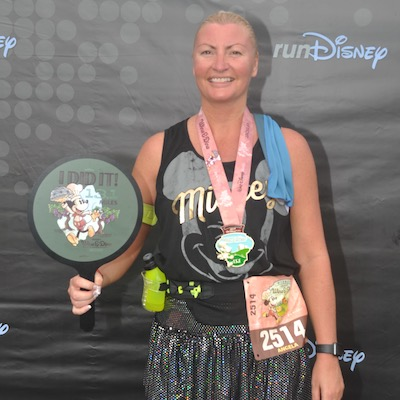 I ran a half marathon with runDisney!