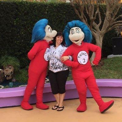 Thing 1 and Thing 2 at Universal Orlando