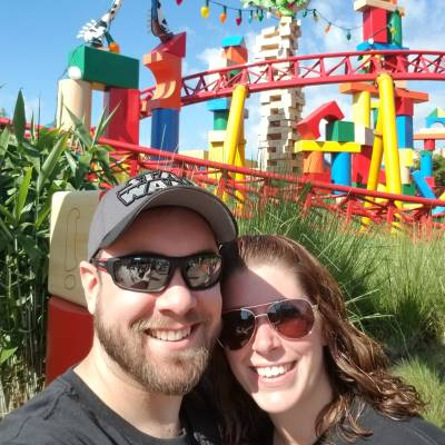 My husband and I love Toy Story Land!