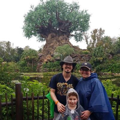 It's always a good day for my family at Disney's Animal Kingdom