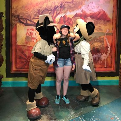 Meeting Mickey and Minnie at Disney's Animal Kingdom