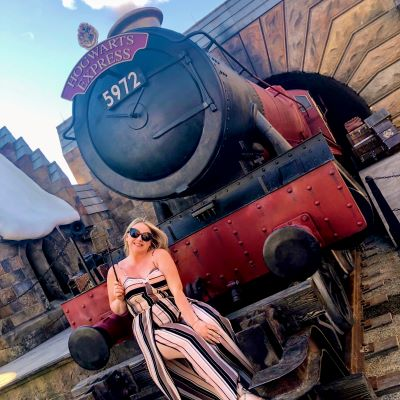 Ready to board the Hogwarts Express at Universal Orlando