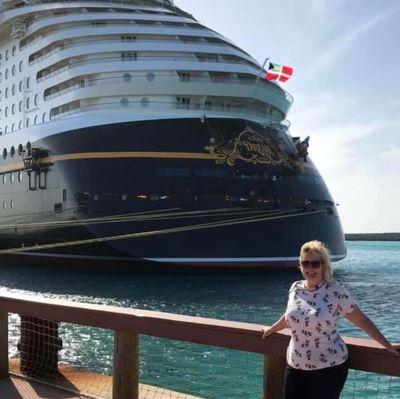 At Castaway Cay at the Disney Dream