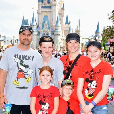 My family always takes a pic at Cinderella Castle