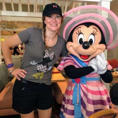 I got to meet Minnie at Cape May Cafe!