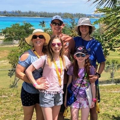 Exploring Fort Charlotte in Nassau, Bahamas