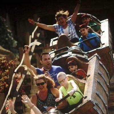 7 Dwarfs Mine Train at Magic Kingdom is such a thrill!