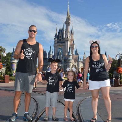 My favourite family castle picture!