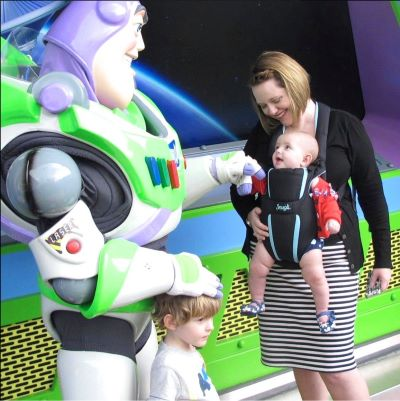 To Infinity and Beyond with Buzz Lightyear at Magic Kingdom