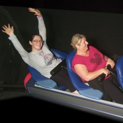 Space Mountain at Magic Kingdom is such at thrill