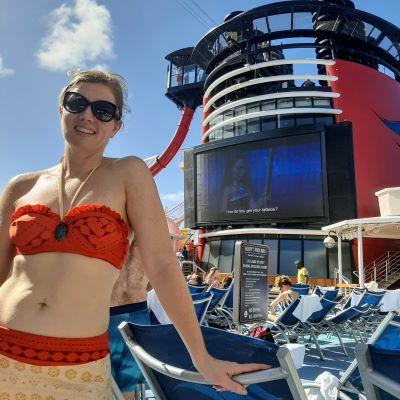Like Moana the line where the sky meets the sea calls me and I love cruising on board Disney Cruise Line.