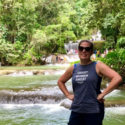 The incredible YS Falls in Jamaica - a fabulous excursion that you can enjoy during a Sandals vacation.