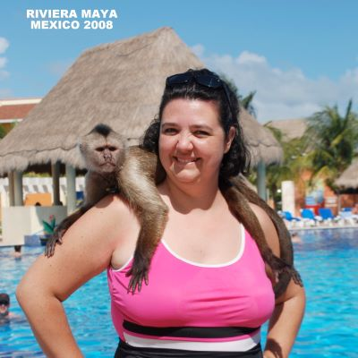 Getting to know the wildlife at Riviera Maya in Mexico.