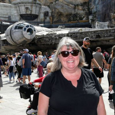 At Star Wars: Galaxy's Edge in Hollywood Studios