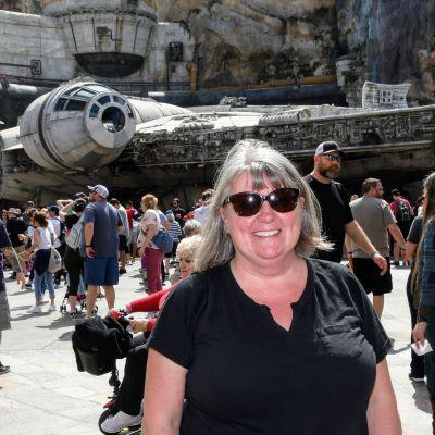At Star Wars: Galaxy's Edge in Hollywood Studios