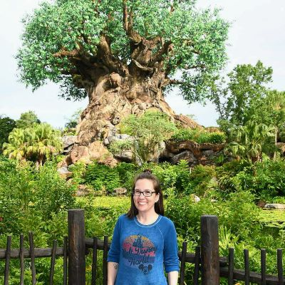 I always take a photo at the Tree of Life at Disney's Animal Kingdom