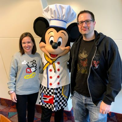 Saying Cheese with Chef Mickey