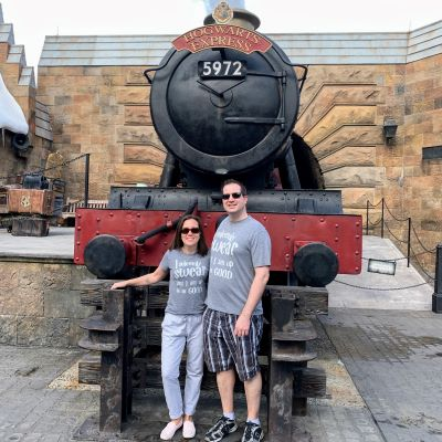 The Hogwart's Express at Universal Orlando is amazing