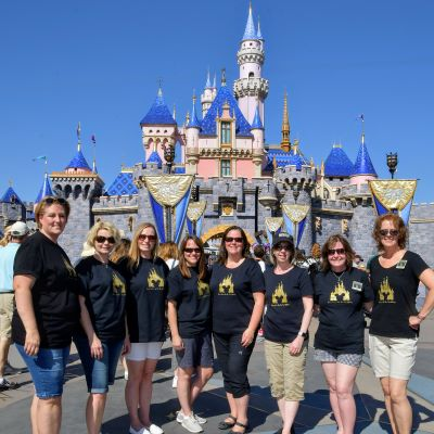 A trip with friends to Disneyland is so much fun
