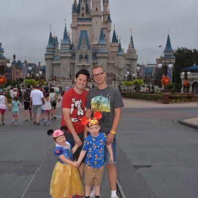 We always take a family photo at Cinderella Castle at Magic Kingdom