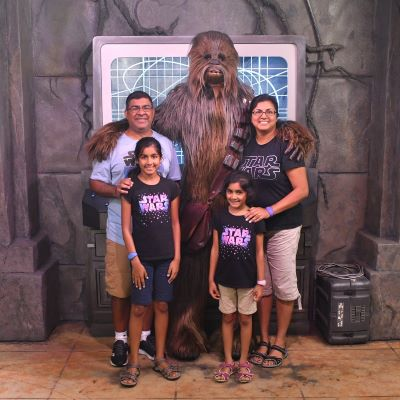 Meeting Chewbacca at Disney's Hollywood Studios