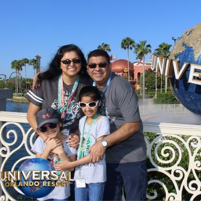 Family fun at Universal Orlando Resort