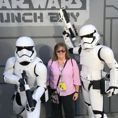 Hanging with the stormtroopers