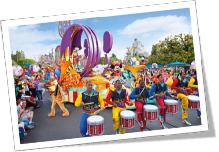 DISNEY SHOWS AND PARADES