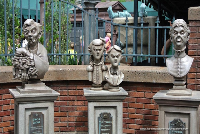 Disney's Haunted Mansion - I'll admit, I didn't know about the pearls!