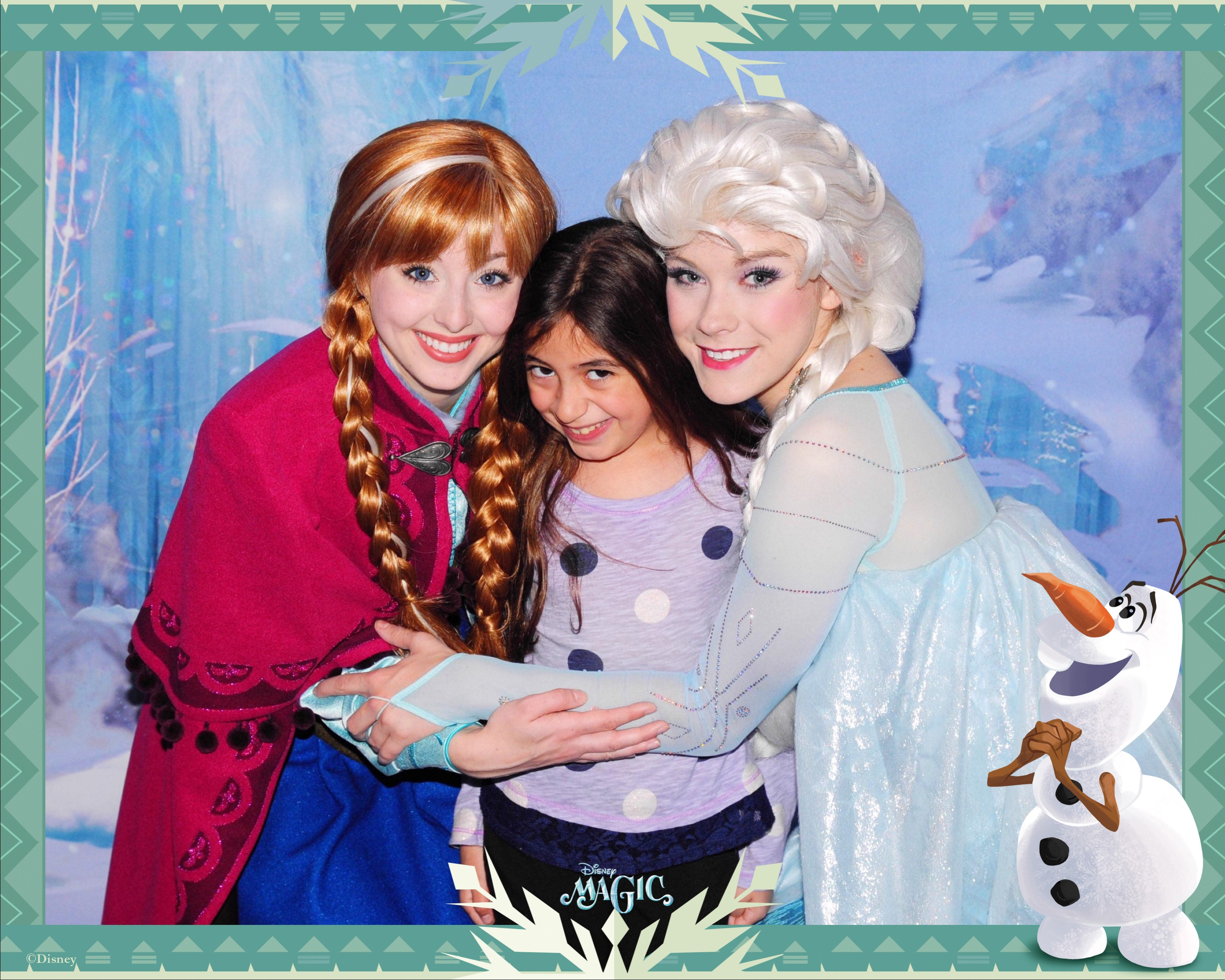 Yes! Your little princess can meet Anna and Elsa without YOU having to go to the theme park!