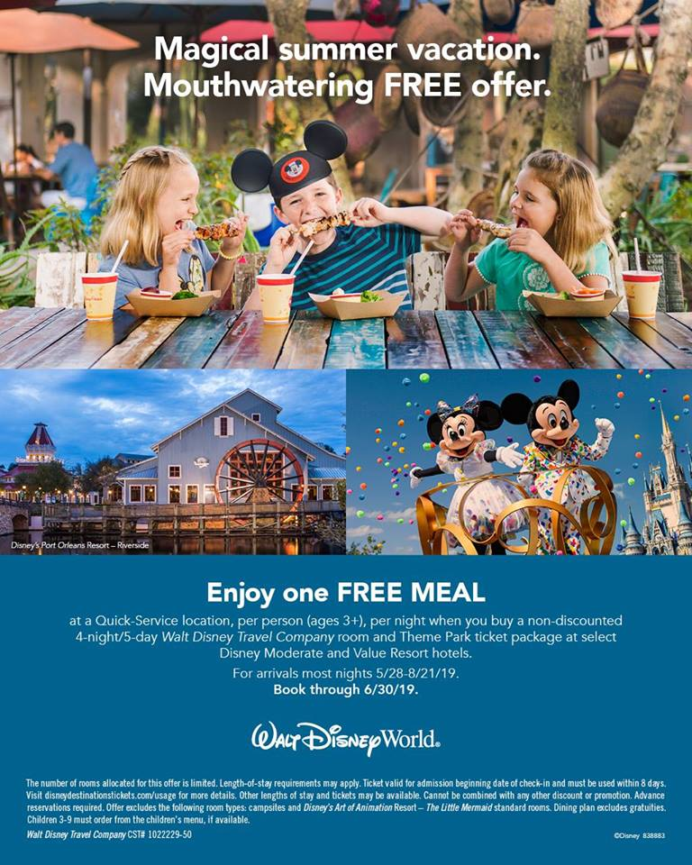 MAGICAL SUMMER VACATION. Mouthwatering FREE offer!