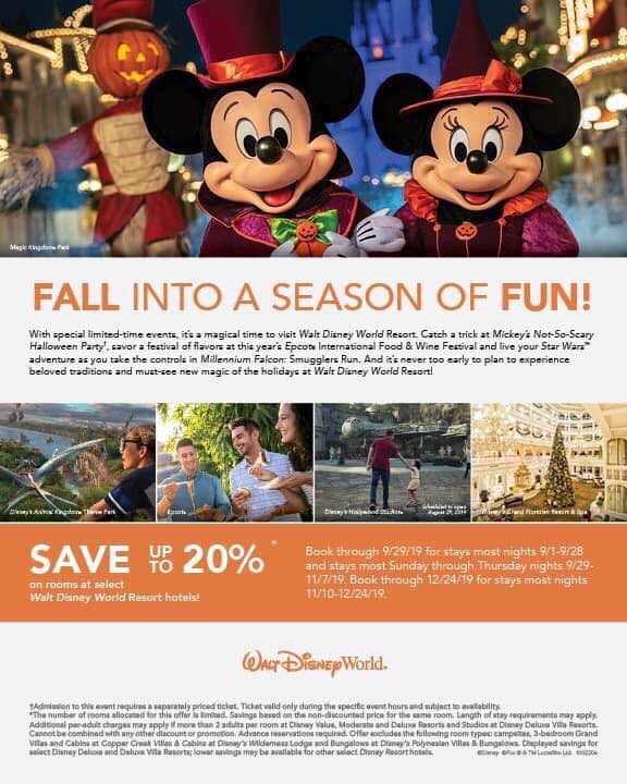 FALL IN TO A SEASON OF FUN!